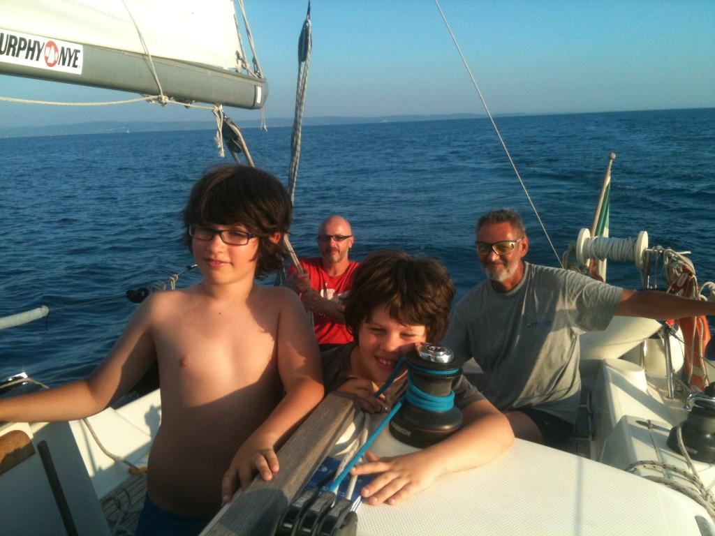 corso crociera adriatico scuola nautica zenit